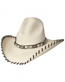 Bullhide The Last Chief Panama Straw Cowboy Hat