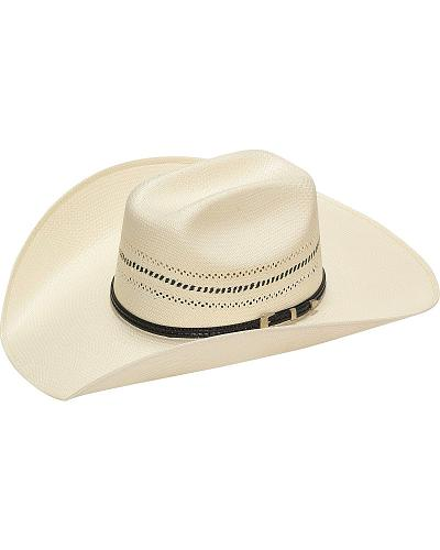 Twister 10X Natural Two-Tone Vent Straw Cowboy Hat Western & Country T73856