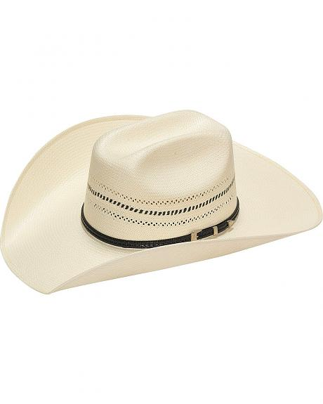 Twister 10X Natural Two-Tone Vent Straw Cowboy Hat