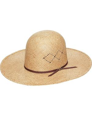 Twister 8X Sisal Open Crown Straw Cowboy Hat