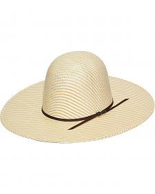 Twister 6X Quality Open Crown Straw Cowboy Hat