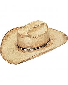 Twister Palm Leaf Straw Cowboy Hat