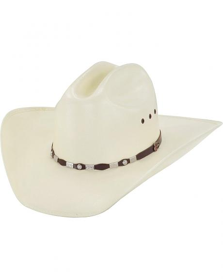 Justin 20X Jacksonville Brown Fancy Concho Hat