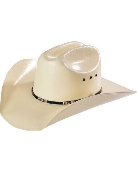 Justin 10X Bastrop Straw Cowboy Hat