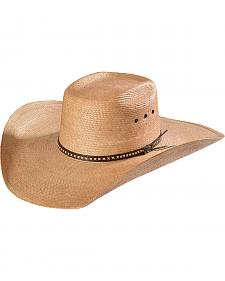 Justin Bent Rail Gunslinger Copper Straw Cowboy Hat