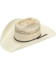 Twister Added Money Brick Two Tone Bangora Hat - Tan