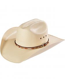 Larry Mahan Men's 10X Tacoma X Cowboy Hat with Hitched Band