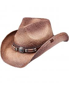 Peter Grimm Contraband Straw Cowboy Hat