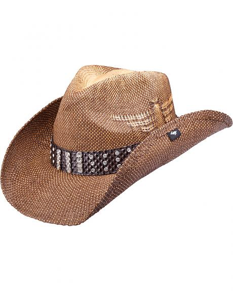 Peter Grimm Perry Straw Cowboy Hat