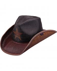 Peter Grimm Lone Star Straw Cowboy Hat