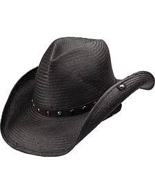 Peter Grimm Seraphim Straw Cowboy Hat