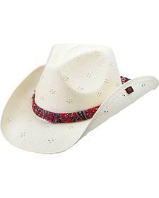 Peter Grimm Luana Straw Cowboy Hat
