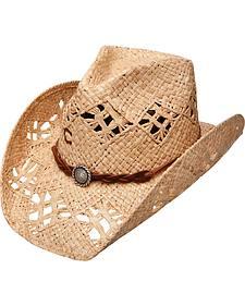 Charlie 1 Horse Line Em Up Straw Cowboy Hat