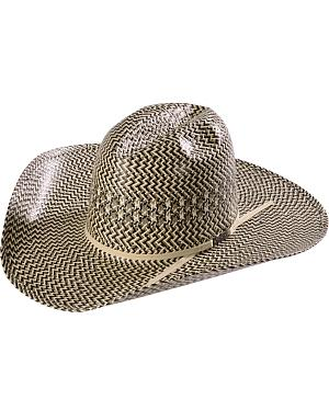 American Hat Co. Tri Tone Minnick Straw Cowboy Hat