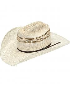 Twister Bangora Straw Two Cord Cowboy Hat
