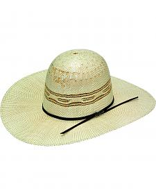 Twister Open Range Bangora Straw Open Crown Hat
