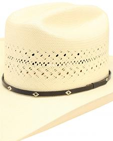 Ariat 20X Cattleman Crease Double S Straw Cowboy Hat