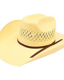 Ariat Men's 10X Maverick Double S Straw Hat