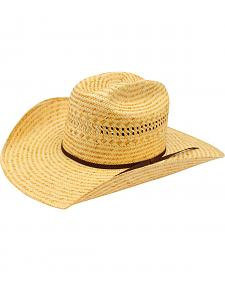 Ariat Poly Rope Americana Straw Cowboy Hat