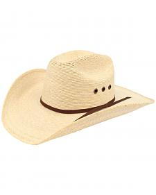 Ariat Natural Palm Tophand Straw Hat