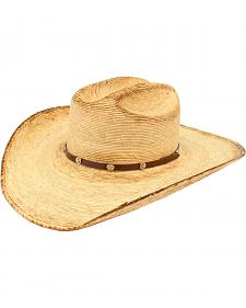Ariat Double S Fired Palm Straw Hat