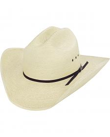 Larry Mahan Palm Straw Cowboy Hat