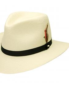 Black Creek Toyo Straw Ivory Men's Hat