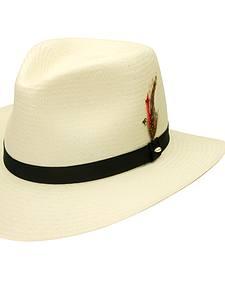 Black Creek Toyo Straw Ivory Men's Hat