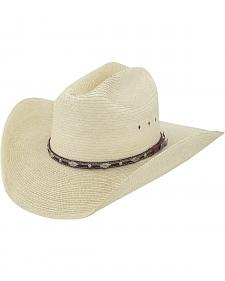 Larry Mahan Men's Brindle Palm Western Hat