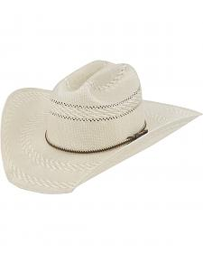 Justin Bent Rail Garrett Straw Cowboy Hat