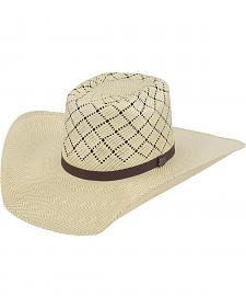 Justin Bent Rail Sunfire Straw Cowboy Hat