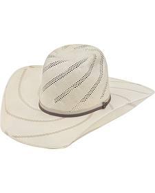 Justin Bent Rail Tornado Straw Cowboy Hat