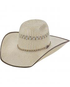 Justin Bent Rail Tres Rios Straw Cowboy Hat