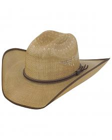 Justin Bent Rail Tan Fenix Straw Hat