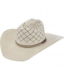 Justin Bent Rail Waddy Straw Cowboy Hat