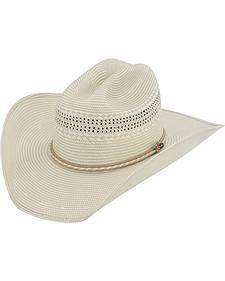 Justin 50X Sunderland Straw Cowboy Hat