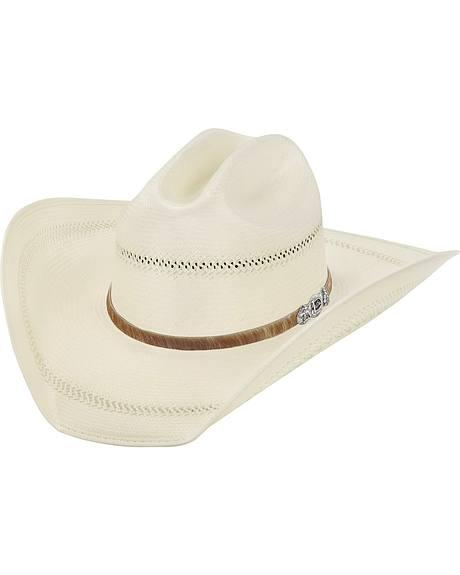 Justin 50X Cattle Ranch Straw Cowboy Hat