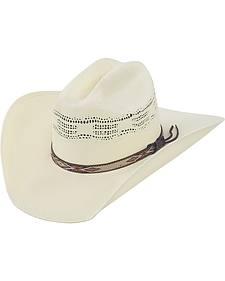 Justin 20X Pueblo Straw Cowboy Hat