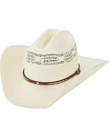 Justin 20X Flagstaff Straw Cowboy Hat