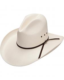 Resistol Men's John Wayne The Peacemaker Sloped 10X Straw Hat