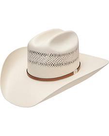 Resistol George Strait Colt 10X Straw Cowboy Hat