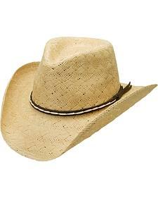 Silverado Desert Sun Toyo Straw Bend-a-Brim Men's Hat