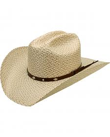 Silverado Texas Braided Toyo Straw Cowboy Hat