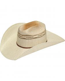 Twister Men's Two-Tone Bangora Straw Cowboy Hat