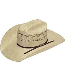 Twister Men's 8X Sisal Straw Cowboy Hat