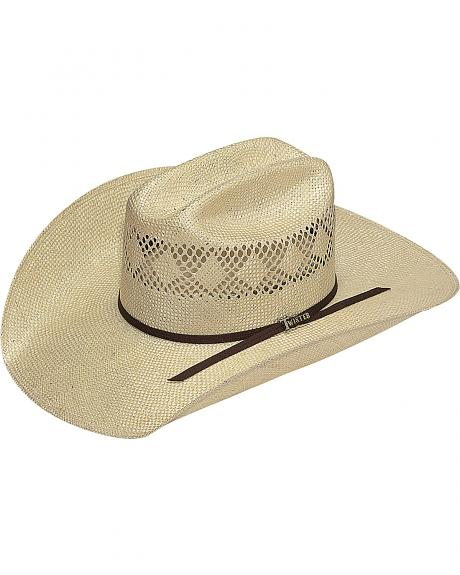 Twister Men's 8X Sisal Straw Cowboy Hat
