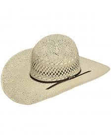 Twister Men's Twisted Weave Straw Cowboy Hat