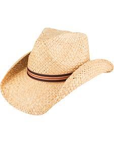 Peter Grimm Burton Woven Straw Cowboy Hat