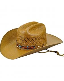 Bailey Men's Western Loaner Straw Cattleman Hat