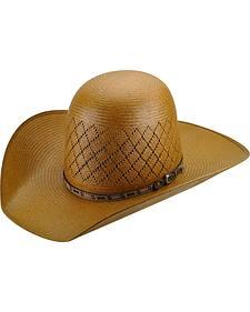Bailey Men's Western Ruger Open Crown Straw Hat